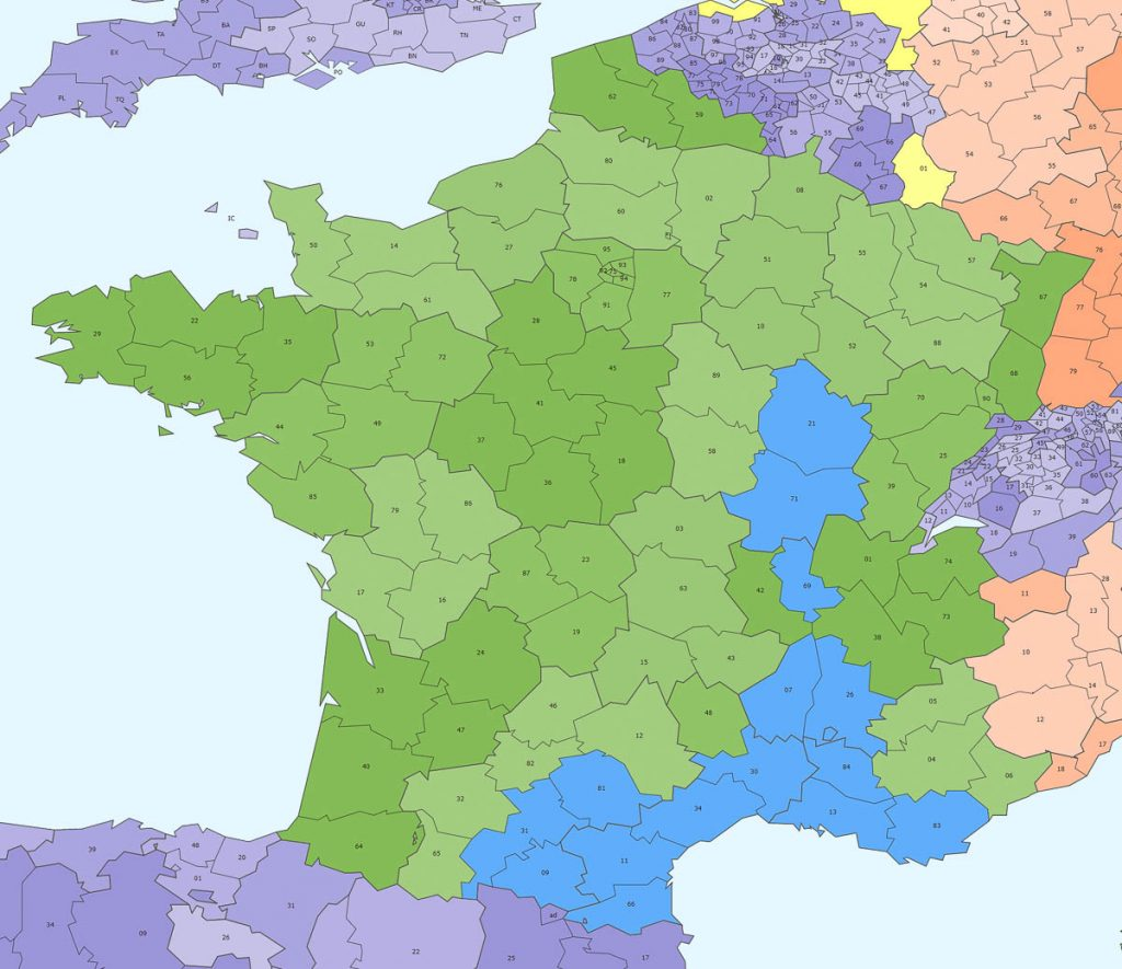 Fabry groupage Sud France